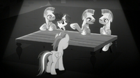"""Guard """"Except for last night when somepony"""" S5E15"""