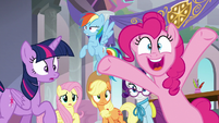 Mane Six hear the school bell ring S8E1
