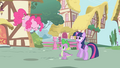 Pinkie Pie about to zoom out of the scene S1E01.png