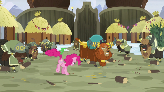 File:Pinkie Pie and yaks continue to stomp S7E11.png