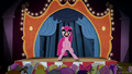 Pinkie Pie standing on a stage BFHHS4.png