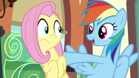 Rainbow Dash --I don't know what will!-- S6E18