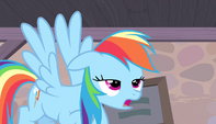 Rainbow Dash disappointed S5E1