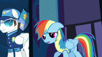 Rainbow cute expression S3E7
