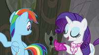 "Rarity ""perhaps the key is right here!"" S8E17"