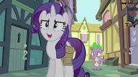 Rarity -this is exactly what I'm talking about!- S4E23