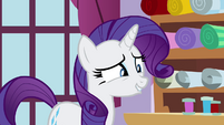 Rarity smile S4E18