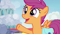 "Scootaloo ""Rainbow Dash's time in Ponyville"" S7E7"