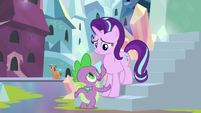 Spike --we have to at least explain-- S6E1