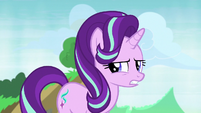 Starlight Glimmer talking about the maulwurf S7E17