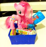 Toy Pinkie with Candy