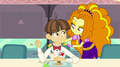 Adagio Dazzle standing next to unnamed boy EG2.png