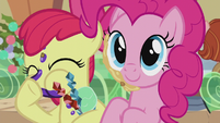 Apple Bloom wiping her mouth S5E20
