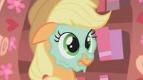 Applejack mud mask S01E08