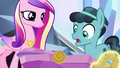 Crystal Hoof senses the love around Flurry Heart S6E16.png