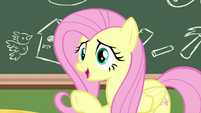 "Fluttershy ""I mean, it's time for"" MLPS3"