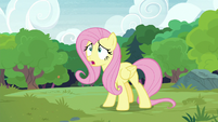 Fluttershy gasps in shock S7E5