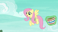 Fluttershy starting to have fun S6E18