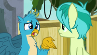 "Gallus ""gonna guess it's not pillows"" S8E2"