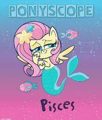 MLP Pony Life Instagram - Fluttershy Pisces Ponyscope