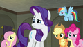 Main five still staring at Twilight S6E9.png