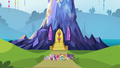 Mane 6 at their castle S4E26.png
