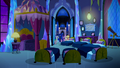 Mane Six, Luna, and Spike enter Twilight's bedroom S5E13.png
