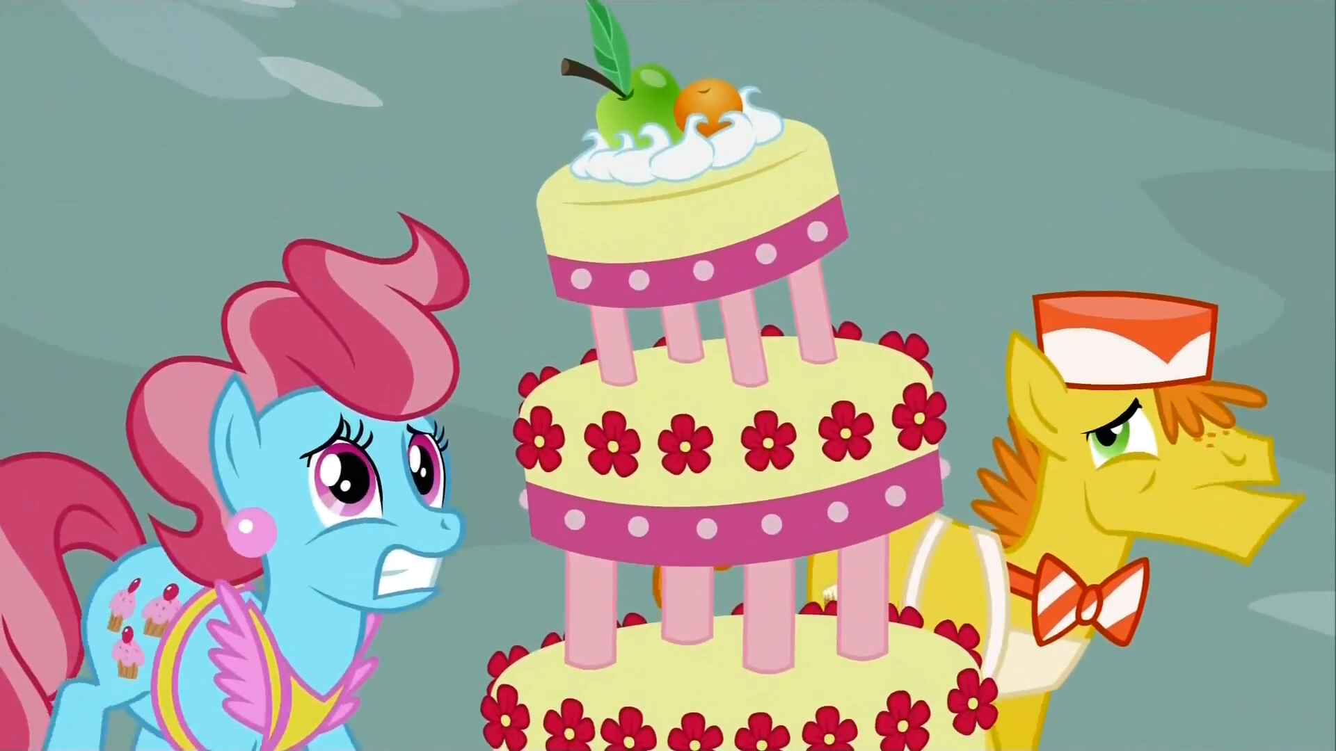 Image Mr and Mrs Cake worried S2E24png My Little Pony