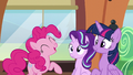 "Pinkie Pie ""even more sparkly and shiny"" S6E1.png"