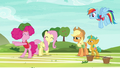 Pinkie Pie dancing with joy S6E18.png