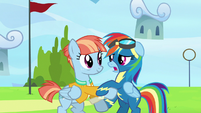 "Rainbow Dash ""how did you know I was here?"" S7E7"