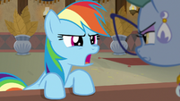 "Rainbow Dash ""you've got it all wrong"" S7E18"