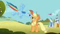 Rainbow Dash Applejack face-to-face 2 S1E13.png