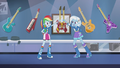 Rainbow Dash and Trixie look at each other EG2.png