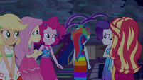 Rainbow turns her back on her friends EGSB