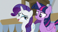 "Rarity ""she did write the book on it"" S8E16"