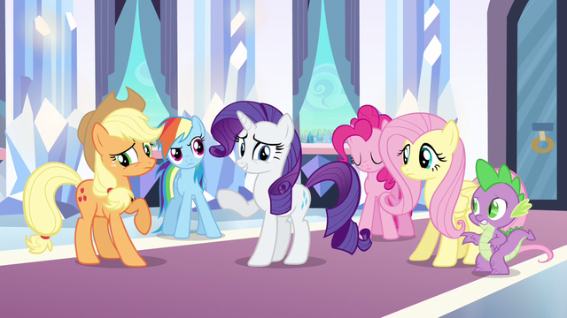 Файл:Rarity please continue S3E1.png