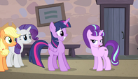 "Starlight ""we don't get many Alicorns around here"" S5E1"