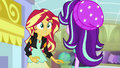 Starlight Glimmer walks up to Sunset Shimmer EGS3.png
