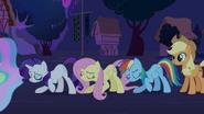Twilight's friends bowing S03E13