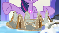 Twilight Sparkle demonstrates Star Swirl's spell S7E25