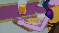 Twilight Sparkle plays with her food EGSB