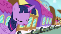 Twilight sighing S4E1