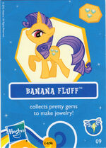 Wave 7 Banana Fluff collector card