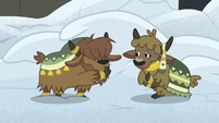 Yak kid 1 shushing yak kid 2 S7E11