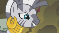 Zecora grinning S1E09