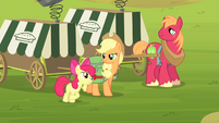 "Apple Bloom ""grown up enough to handle it"" S4E17"