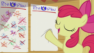 Apple Bloom puts on a new chart S5E18