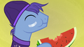 Backup dancer pony eating watermelon S7E8.png