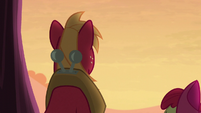 Big Mac slightly turns away from Apple Bloom S5E17